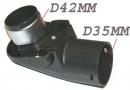 TOURELLE FLEXIBLE - D42mm/D35mm pour aspirateur MIELE S 247 I