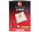 4 sacs Microfibre aspirateur HOOVER PURE POWER TPP 2321
