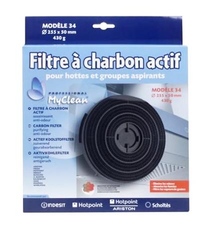 Filtre charbon actif pour hotte whirlpool akr843 366003 - Hotte de cuisine filtre charbon ...