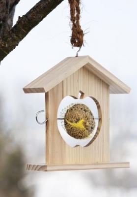 Porte boule de graisse pour les oiseaux - Support boule de graisse pour oiseaux ...