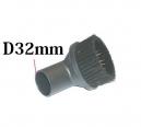 Brosse aspirateur Brosse Aspirateur MEUBLE RONDE D32 D32mm