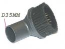 Brosse aspirateur Brosse Aspirateur MEUBLE RONDE D35 D35mm